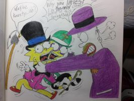 The simpsons:Homer the Joker(part 2) by komi114