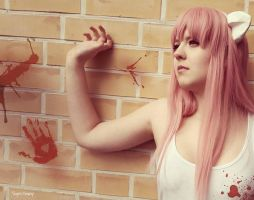 Bloody Lucy - Elfen Lied by SayosCosplays