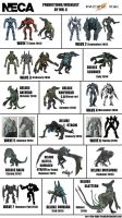 NECA Pacific Rim Predictions/Wishlist 2.0 by Mr-X-The-Kaiju-Freak