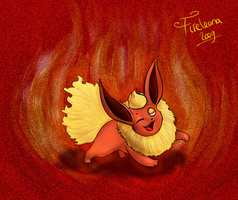 Tis a Flareon :D by avui