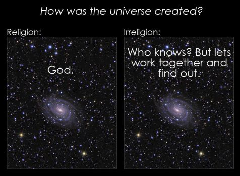 How was the universe created? by Big-Ass-Space-Rock