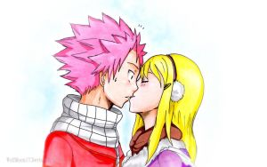 NALU - Almost a kiss by WolfMoon17