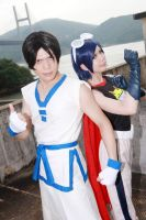 Mailee and Kim [The King Of Fighters]Cosplay by sosochan1314