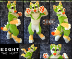 Eight -digitigrade fursuit- by TrelDaWolf