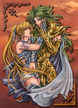 Saint Seiya : Gentle Touch by CameDorea