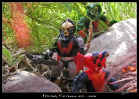 Hordak, Mantenna and Leech by cipher