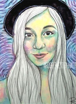 WATERCOLOR FACE by RoselinEstephania