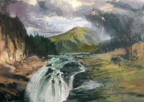 Master Study - Thomas Moran by jeffps