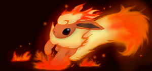 Flareon by Roodoki