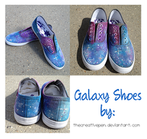 Galaxy Shoes II by thecreativepen