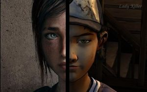 Clem and Ellie Collage by LadyKillerYT