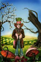 Mad Hatter and his tea by smoofay