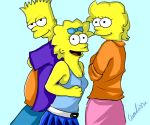 The Simpson kids by lumitassu