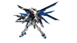 Lego Freedom Gundam Version 3.5: Full Burst! by mithrylaltaire