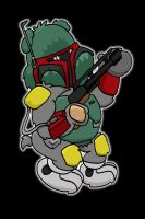 bearba fett by yayzus