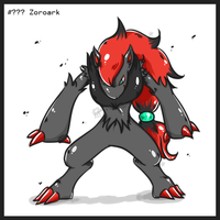 Zoroark by Frog-of-Rock