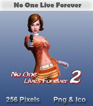 No One Lives Forever Icon by JRT25