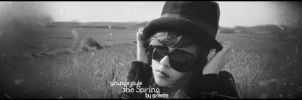 the Spring - B and W Version by Wcreates