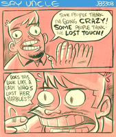 Could be Crazy by sayunclecomics