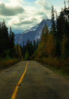 The Mountain Road by KRHPhotography