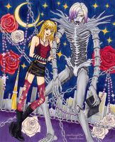 Misa and Rem - Death Note by shadowhearts