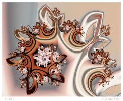 Fire and Ice by aartika-fractal-art