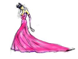 Fashion Illustration by Thackshila