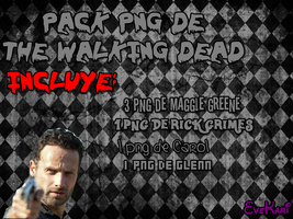 Pack png de The Walking dead by EveKari