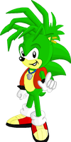 Manic Hedgehog by buddy1913