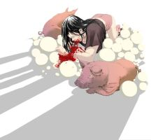 Pig-woman by dead-cows-valley