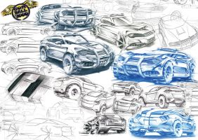 Gumball 3000 Sketches TWITTER @mickeymusic21 by mickeyd1o1