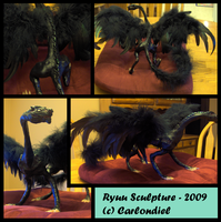 Ryuu - Sculpey FINAL by Incubo-Infinito