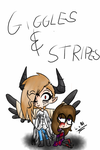 Gift: Giggles and Stripes by darklugia99