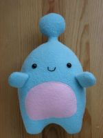Huggable Blue Friend Plush by Neoitvaluocsol