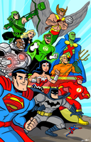DC Comics Super-heroes! by scootah91
