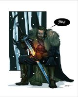Lord Stark by thenota
