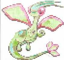 The Flygon -100dev- -request- by artdragon1
