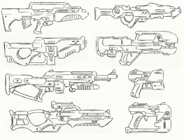 Gun Concepts I - Revamp by JxAir