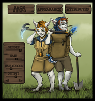 RPG style Meepo (commission) by Wasserbienchen