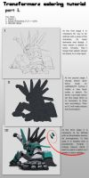 Transformers coloring tutorial by KrIM-art