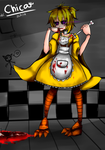 Five Nights at Freddy's : Chica - Want some MEAT? by AllenCRIST