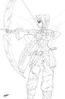 Chi - Archer of Lore by BeigePaladin