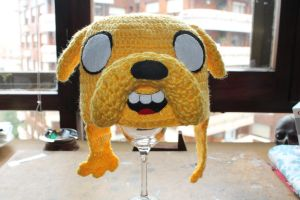 Jake the dog hat by neferush