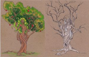 Dryads: finished by pixarjunkie