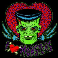 I Heart Monsters by MummysLittleMonster