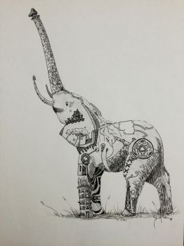 Elephant by ShaneNelson