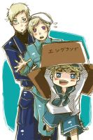 APH: SuFin and Sealand by yunichan