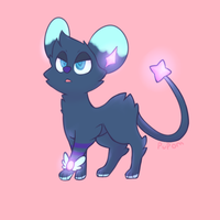 RANDOM GIFT: ElectricLuxray by pupom