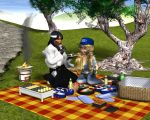 Afternoon Picnic by Tramp-Graphics