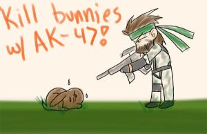 Snake and Bunnies by Oboe